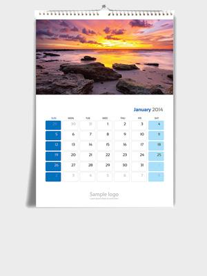 Calendario Parete.Calendari Da Parete Con Spirale